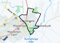 Location of Lansdowne