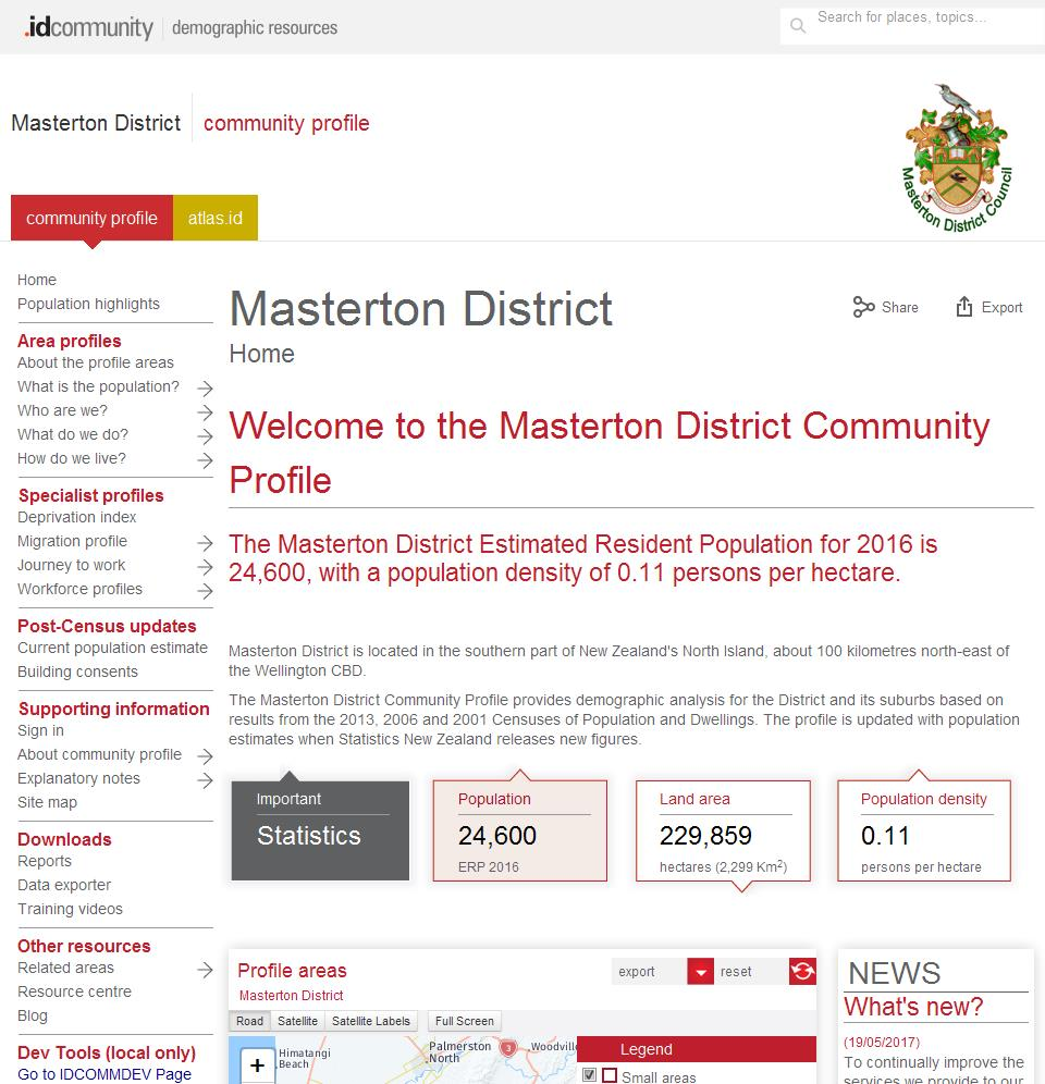 Masterton District