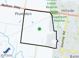 Location of Melton South