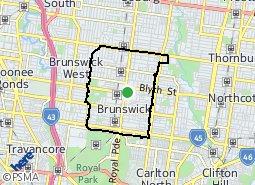 Location of Brunswick