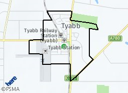 Location of Tyabb Structure Plan