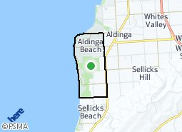 Location of Aldinga Beach