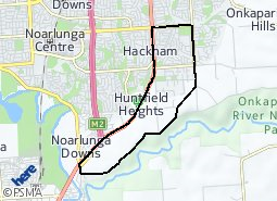 Location of Hackham