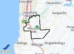 Location of McLaren Vale