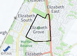 Location of Elizabeth Grove