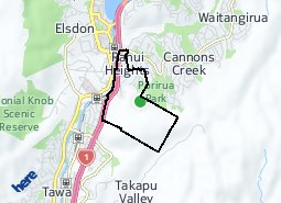 Location of Rānui Heights