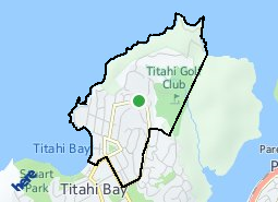 Location of Titahi Bay North