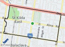 Location of Keilor East