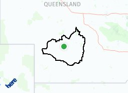Location of Quilpie Shire