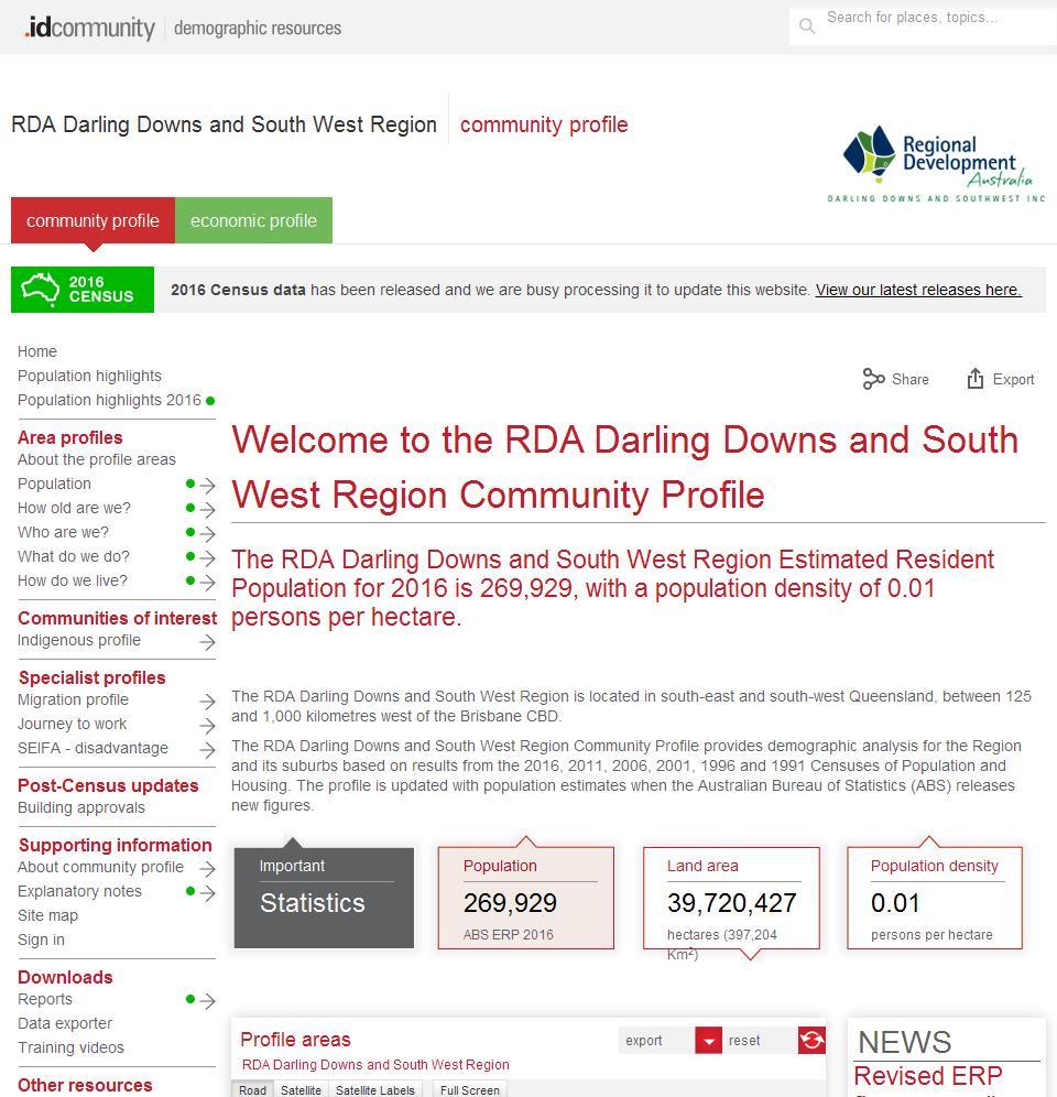 RDA Darling Downs and South West Region