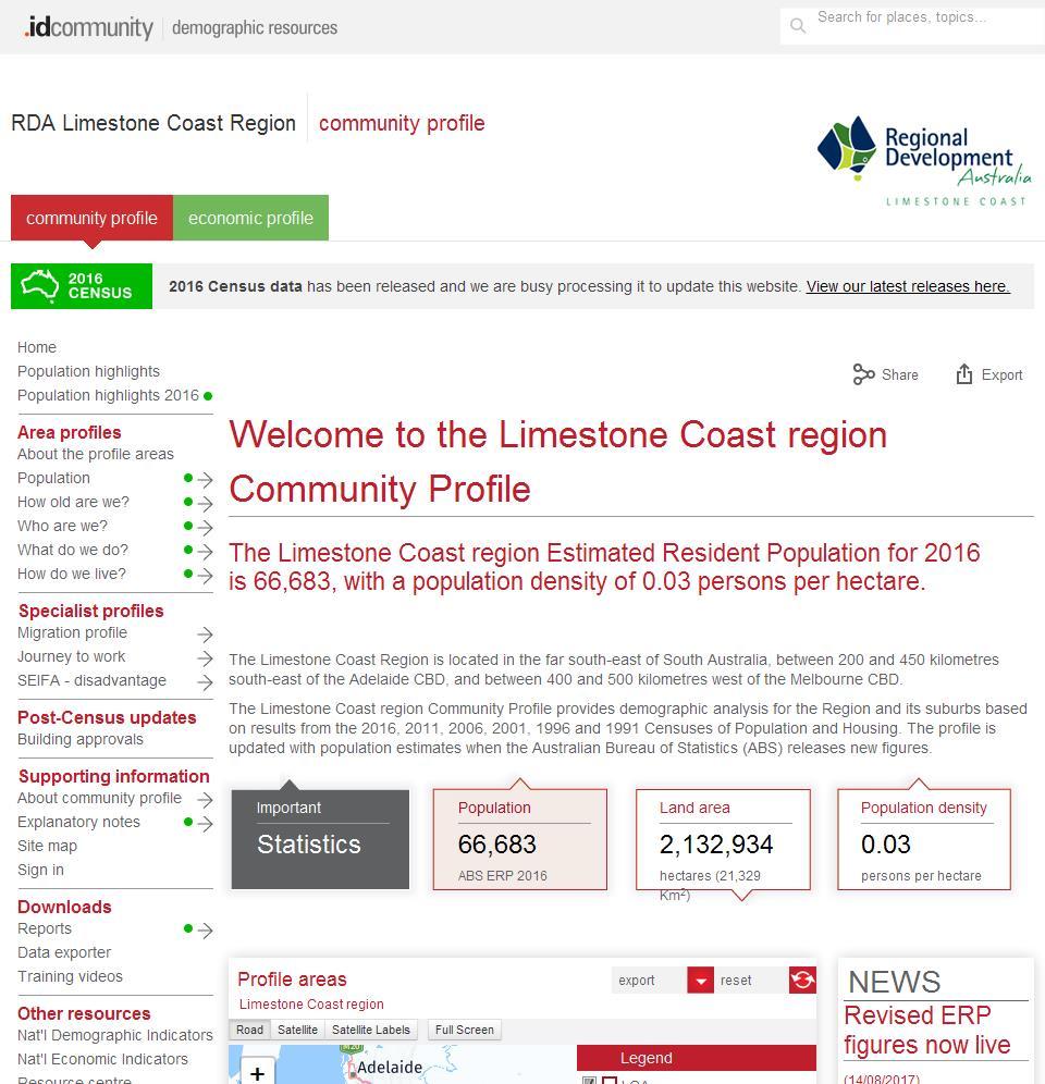 RDA Limestone Coast Region