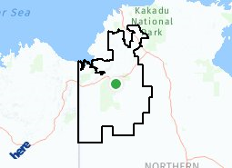 Location of Victoria Daly Regional Council LGA
