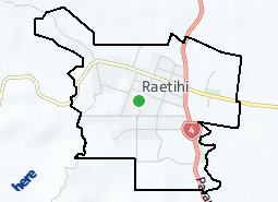 Location of Raetihi