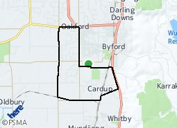 Location of Cardup area