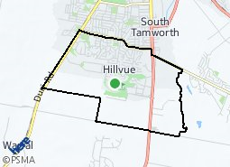 Location of Hillvue