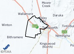 Location of Westdale - Taminda