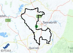 Location of Western Rural