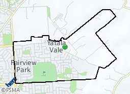 Location of Fairview Park - Yatala Vale