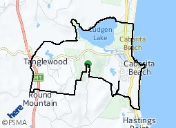 Location of Carterton District