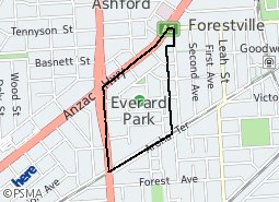 Location of Everard Park