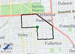 Location of Parkside