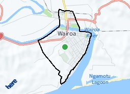 Location of Wairoa