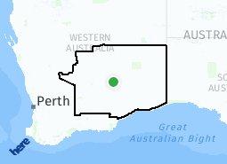 Kalgoorlie Australia Map.Kalgoorlie Suburb Map