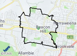 Location of Beacon Hill
