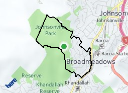 Location of Broadmeadows