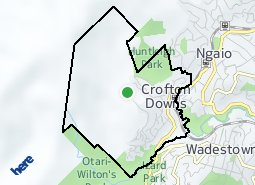 Location of Crofton Downs