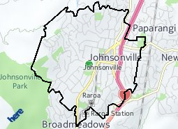 Location of Johnsonville