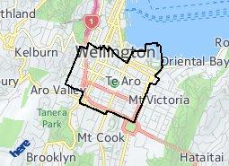 Location of Te Aro