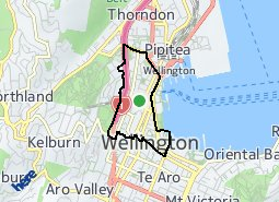 Location of Wellington Central