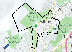 Location of Wilton