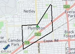 Location of Plympton
