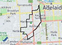 Location of Keswick Ward