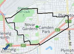 Location of Morphett Ward