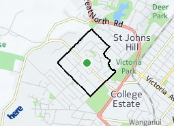 Location of Springvale East