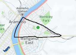 Location of Williams Domain