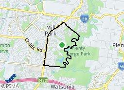 Location of Bundoora