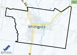 Location of Whittlesea Township and Surrounds