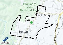 Location of Buxton - Couridjah