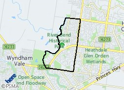 Location of Cranbourne South