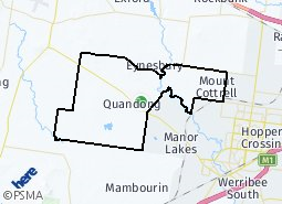 Location of Hampton Park