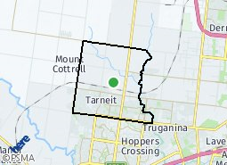 Location of Narre Warren South