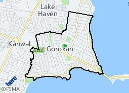 Location of Gorokan