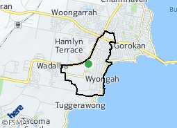 Location of Kanwal - Wyongah
