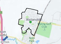 Location of Watanobbi