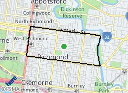 Location of North Richmond